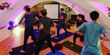 Free Yoga Class Sunday Afternoon – Treat yourself & help a teacher trainee tickets