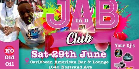Jab in de club tickets