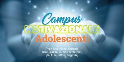 Campus formativo motivazionale adolescenti