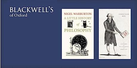 Philosophy in the Bookshop - Nigel Warburton and Jonathan Reé  tickets