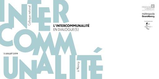 Colloque national - L'intercommunalité en dialogue(s)