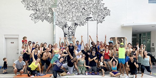 Free Warrior Flow Yoga on Lincoln Road