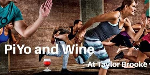 PiYo and wine
