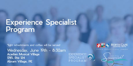 Experience Specialist tickets