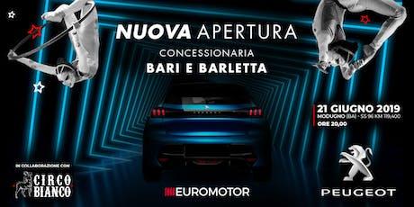 Inaugurazione Nuova Concessionaria Peugeot | Euromotor biglietti