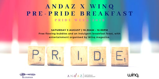 Andaz x Winq: Pre-Pride Rainbow Breakfast