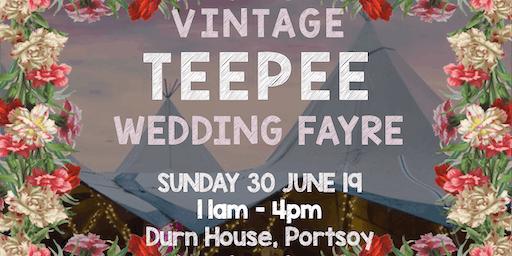 Vintage Teepee Wedding Fayre