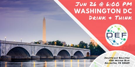 DEF Washington DC Drink & Think tickets