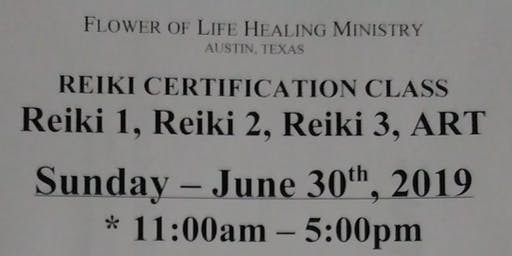 Reiki Certification Class