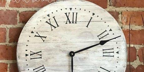 Farmhouse Clock Workshop tickets