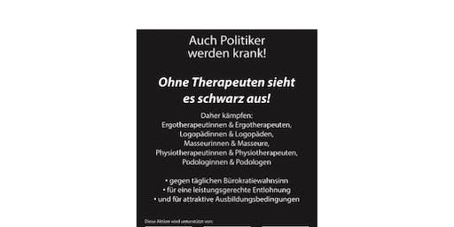 Ohne Therapeuten sieht es schwarz aus