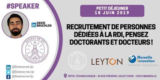 Recrutement de personnes dédiées à la RDI, pensez doctorants et docteurs !