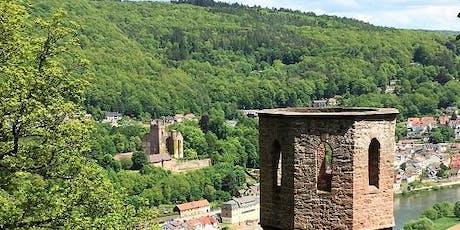 So,07.07.19 Wanderdate Vier Burgen Tour am Neckar für 50+ Tickets