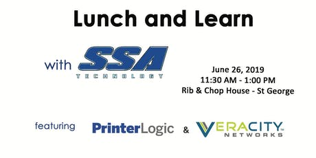 SSA Lunch and Learn - St George tickets