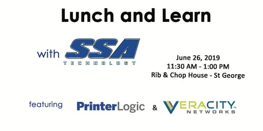 SSA Lunch and Learn - St George