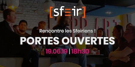 Soirée portes ouvertes - SFEIR / Culture du partage billets