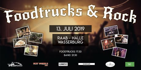 Foodtrucks & Rock - RAAB Halle Tickets