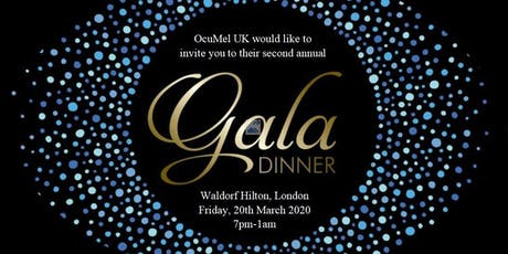 OcuMel UK's 2020 Gala Dinner tickets