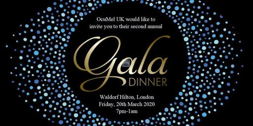 OcuMel UK's 2020 Gala Dinner