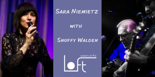 SARA NIEMIETZ with SNUFFY WALDEN