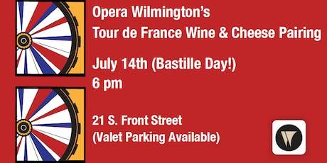 Opera Wilmington's Tour de France Wine & Cheese Pairing tickets
