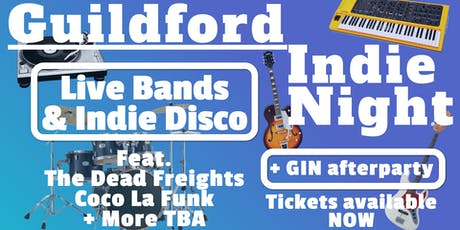 Guildford Indie Night vol. 10 tickets