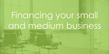 Learn@Lunch: Financing your small and medium business tickets