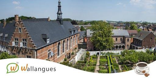 Café-Langues + visite de l'Hôpital Notre-Dame à la Rose - Lessines