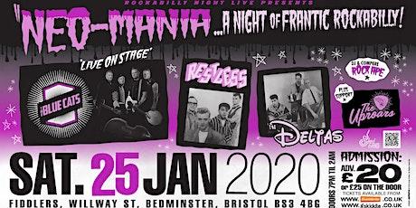 Neo-Mania - A Night of Frantic Rockabilly  tickets