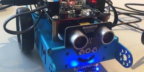 abgesagt: Schnupperworkshop Robotik (8-12 Jahre) Tickets