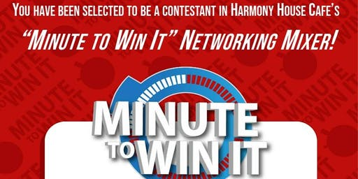Minute to Win It Game Party- Networking Mixer