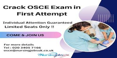 UK NMC OSCE (Objective Structured Clinical Examination) Training June Course 2019