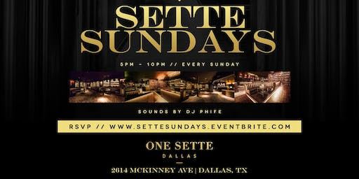 Sunday Funday @ One Sette {Sunday Funday Meets Uptown}