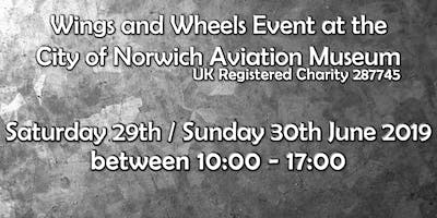 Wings & Wheels Event at the City of Norwich Aviation Museum!