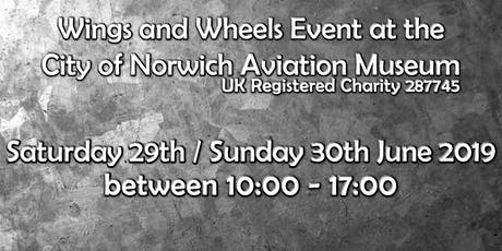 Wings & Wheels Event at the City of Norwich Aviation Museum! tickets