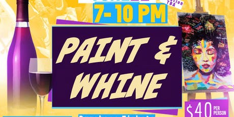 Paint And Whine (Wine) : Afrobeat And Caribbean Vibes tickets