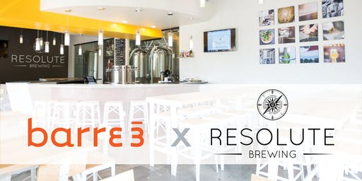 Barre3 Pop-Up Summer Series at Resolute Brewing Company