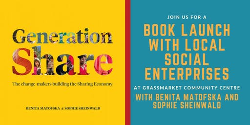 Generation Share Book Launch with Benita Matofska and Sophie Sheinwald