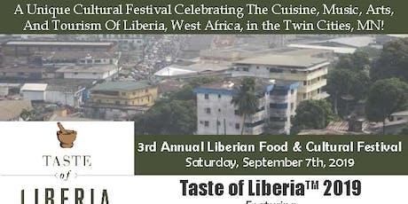 Taste of Liberia 2019 tickets
