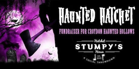 Haunted Hatchet Fundraiser tickets