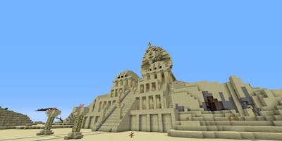 Minecraft-Workshop Ägypten