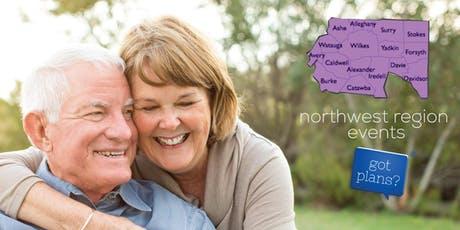 """Got Plans?"" Advance Care Planning Workshop in Mocksville, NC tickets"