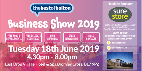 Thebestof Bolton Business Show 2019 tickets