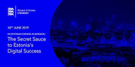 The Secret Sauce to Estonia's Digital Success tickets