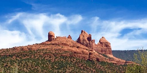 First Degree/Shoden Reiki Training: 'Self-Reiki for Self-Care.' Sedona, Arizona. June 13 - 17