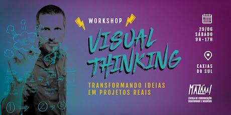 Workshop de Visual Thinking em Caxias do Sul ingressos