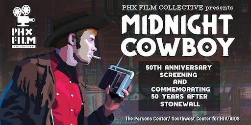 PHX Film Collective presents Midnight Cowboy 50th Anniversary Screening