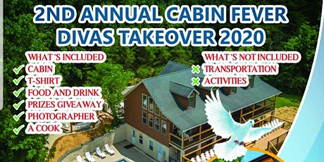 2ND ANNUAL CABIN FEVER DIVAS TAKEOVER 2020 tickets