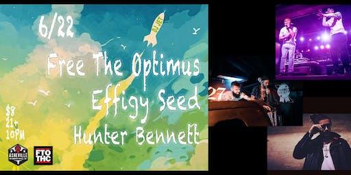 AVL Hip-Hop Showcase ft. Free The Optimus. FTO, Effigy Seed & Hunter Bennett | Asheville Music Hall