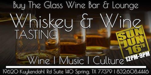 Whiskey & Wine Tasting | The Woodlands & NW Houston